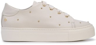 AGL Studded Lace-Up Sneakers