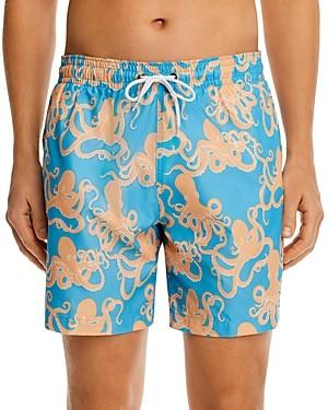 Trunks Surf & Swim Co. Octopus Sano Print Swim Trunks