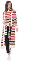 Juicy Couture Colorful Stripe Long Cardigan
