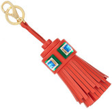 Anya Hindmarch STONES GHOST TASSEL IN FLAME RED CIRCUS