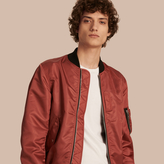 Burberry Technical Bomber Jacket , Size: 54, Pink