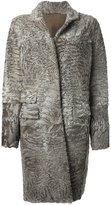 Liska - 'Hyrmes' coat - women - Lamb Fur - M
