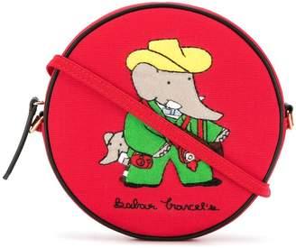 Olympia Le-Tan Babar Travels shoulder bag