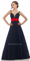 Nika Touch of Bow Evening Dress