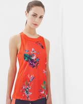 Ted Baker Tropical Oasis mesh detail vest top