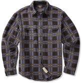 Ralph Lauren RRL Plaid Cotton Jacquard Shirt