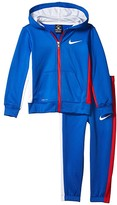 Nike Therma-Fit Color Block Full Zip Jacket and Jogger Pants Two-Piece Set (Little Kids) (Game Royal) Boy's Active Sets