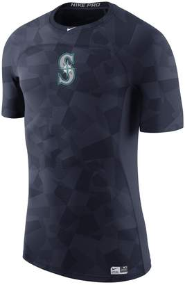 Nike Men's Navy Seattle Mariners Authentic Collection Pro Hypercool Performance T-Shirt