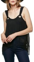 Free People Midnight Moves Fringe Tank