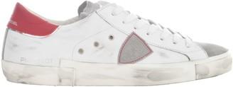 Philippe Model Low Sneakers Prsx W/ Red Heel