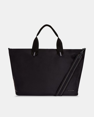 Ted Baker Plain Large Nylon Tote Bag