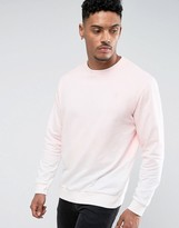 Soul Star Dip Dye Crew Neck Sweat