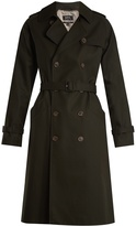 A.P.C. Garber double-breasted cotton trench coat