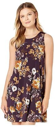 Karen Kane Floral Print Chloe Dress (Print) Women's Clothing