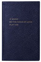 Smythson Shakespeare 3 Panama Journal, Navy