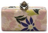Alexander McQueen Embroidered Heart Case Clutch Bag