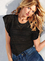 Victoria's Secret Angel Tees The Lace Tee
