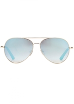 Matthew Williamson Jade Aviator Sunglasses
