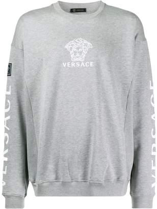 Versace Medusa crew neck sweatshirt