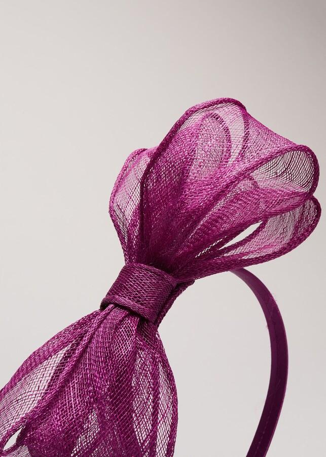 Thumbnail for your product : Phase Eight Zalinda Bow Headband