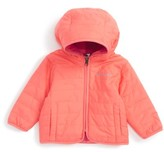 Columbia Infant Girl's Double Trouble Reversible Water-Resistant Hooded Jacket