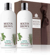 Molton Brown Inspiring Basil & Vetiver Hair Care Set