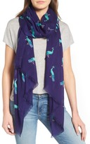 Kate Spade Women's Peacock Oblong Scarf