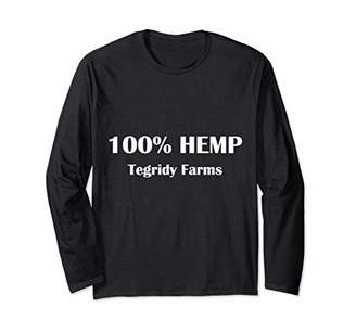Tegridy Farms 100 Procent Hemp - Faming with Tegridy Long Sleeve T-Shirt