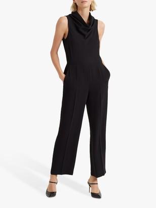 Club Monaco Cowl Neck Jumpsuit, Black