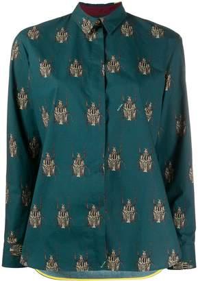 Paul Smith beetle print shirt