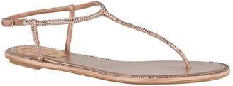 Rene Caovilla Leather Embellished Sandals