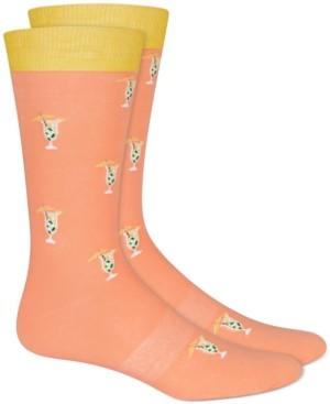 Bar III Men's Printed Socks, Created for Macy's