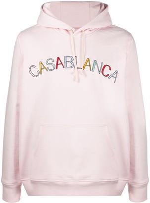 Casablanca Arch Logo hoodie