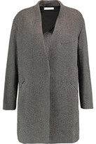 IRO Striped Wool-Blend Coat