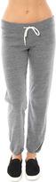Monrow Heather Fleece Vintage Sweatpants