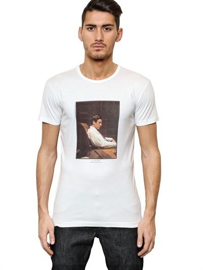 Dolce & Gabbana Al Pacino Cotton Jersey T-Shirt