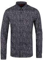 Hugo Ero 3 Charcoal Grey Abstract Camo Shirt