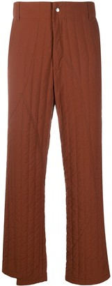 A-Cold-Wall* Quilted Straight-Leg Trousers