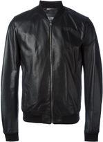 Dolce & Gabbana bomber jacket - men - Lamb Skin/Acetate/Viscose - 46
