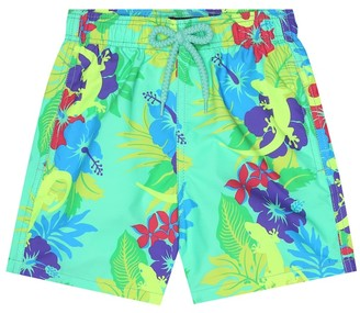 Vilebrequin Kids Jim Gecko swim trunks