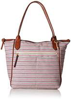 Fossil Fiona Tote Colorful Stirpes