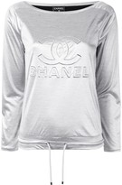 Chanel Pre Owned CC drawstring top