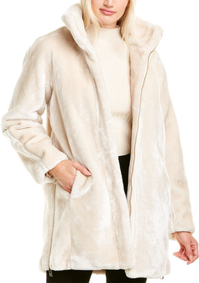 Nine West Plush Coat