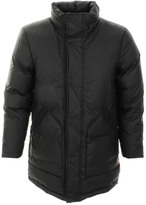 Hunter Rubber Touch Parka Jacket Black