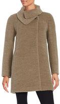 Cinzia Rocca Petite Wool-Blend A-Line Coat