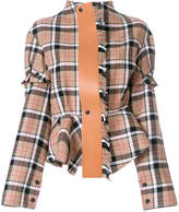 Loewe check jacket