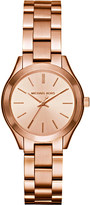Michael Kors MK3513 rose gold-plated stainless steel watch