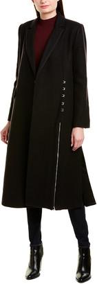 Jonathan Simkhai Structured Wool Coat