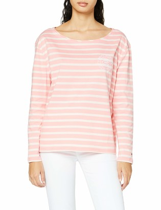 Tommy Hilfiger Women's TH Essential Relaxed TEE LS Long Sleeve Top