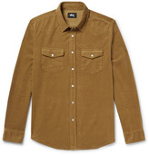 Stussy Western Slim-Fit Cotton-Corduroy Shirt